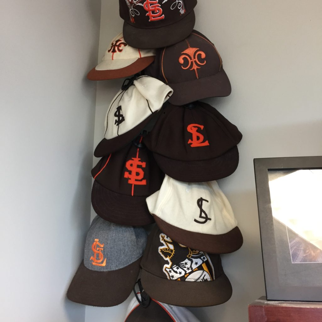 St. Louis Browns caps