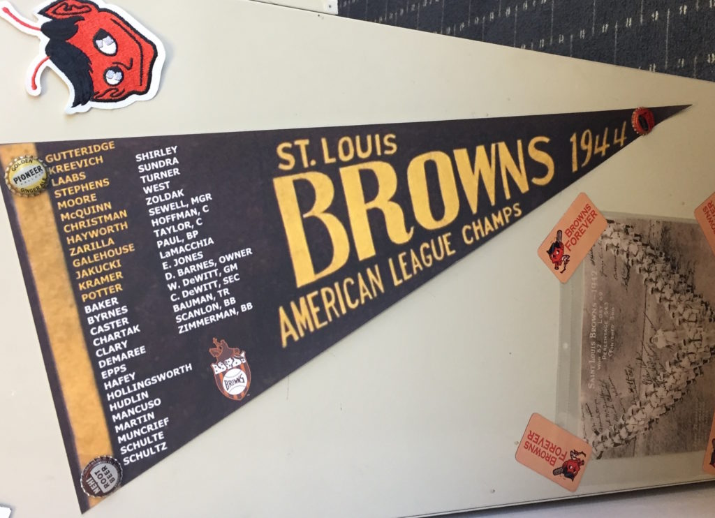 Browns pennant